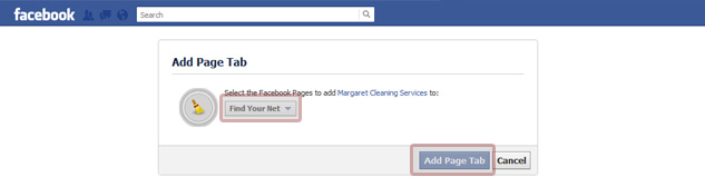 Add Page Tab to Facebook Page